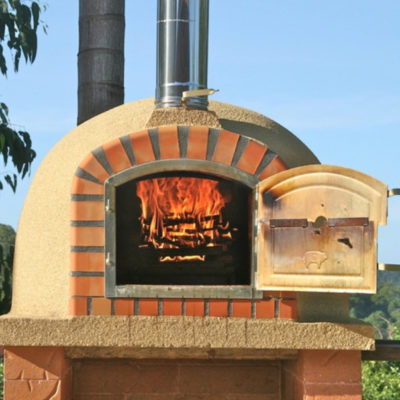 Pizza Oven With Flame