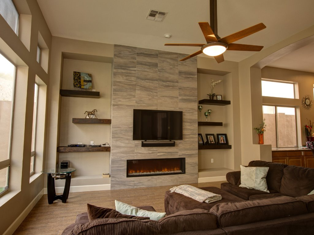 Flooring and Family Room Overhaul