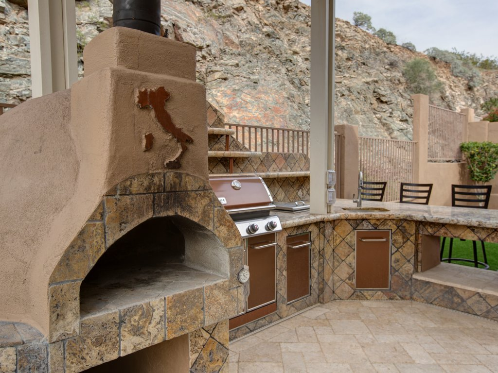 From Grill To Outdoor Kitchen